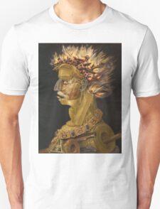 Giuseppe Arcimboldo - Fire - From The Four Elements 1566 Unisex T-Shirt
