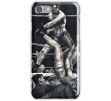 George Wesley Bellows - Dempsey And Firpo  iPhone Case/Skin