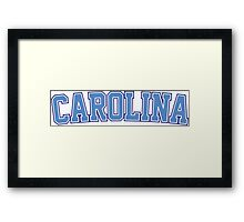 Carolina Framed Print