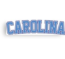 Carolina Canvas Print