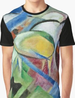 Franz Marc - The Sheep 1913 - 1914  Graphic T-Shirt