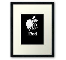 iBad Framed Print