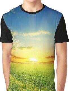 Warm Sun Graphic T-Shirt