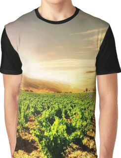 Grapes Land Graphic T-Shirt