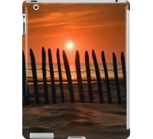 At the Setting of the Sun iPad Case/Skin