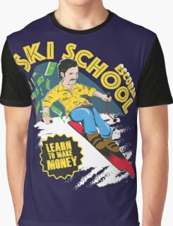 Escobar Ski School Graphic T-Shirt