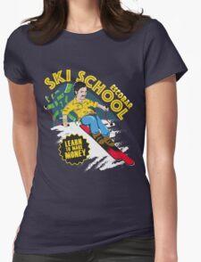 Escobar Ski School Womens Fitted T-Shirt