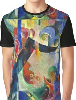Franz Marc - Broken Forms  Graphic T-Shirt