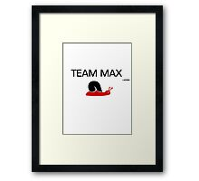 Team Max 1 Framed Print