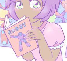 I like robots Sticker