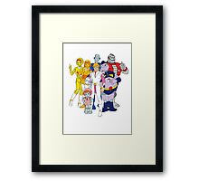 Mighty Orbts - Group Framed Print