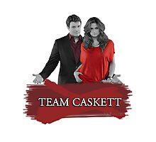 Team Caskett Photographic Print