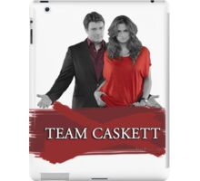 Team Caskett iPad Case/Skin