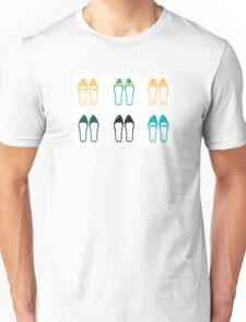 Cute Shoes collection. Vector Illustration Unisex T-Shirt