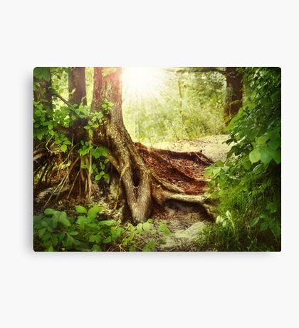 Strong Word Canvas Print
