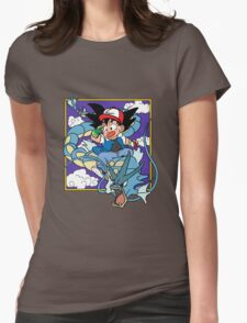 Dragon Pokemon Womens Fitted T-Shirt
