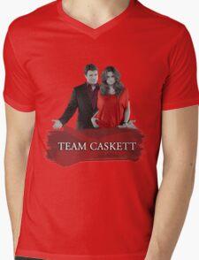 Team Caskett Mens V-Neck T-Shirt