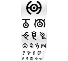 Medical Exam Unown Poster