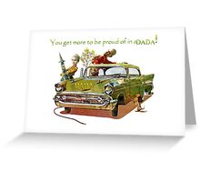 All New DADA Convertable 2. Greeting Card