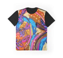 Disco Dragonfly Graphic T-Shirt