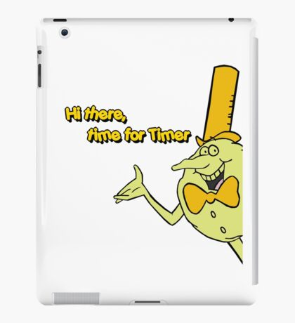 Time for Timer - Hi There - half shot iPad Case/Skin
