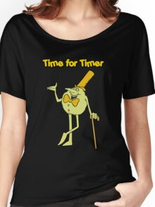 Time for Timer - Full Shot Women's Relaxed Fit T-Shirt