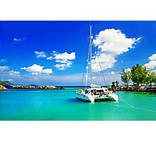 Yacht Photographic Print