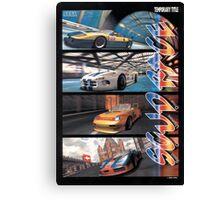 Sega Scudrace Canvas Print