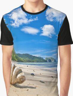 Wild Beach Graphic T-Shirt