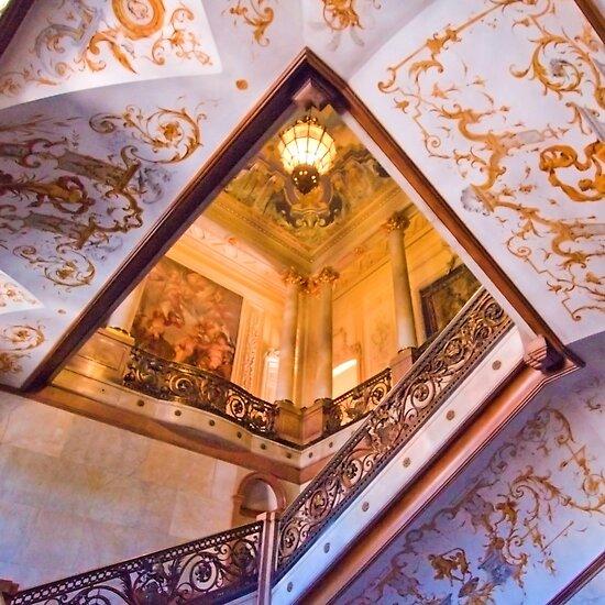 stairs. Palácio Foz. Restauradores. Lisbon by terezadelpilar~ art & architecture
