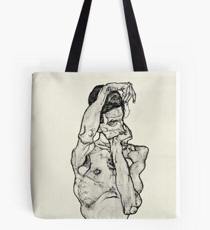 Egon Schiele - Zeichnungen II  (1914)  Tote Bag
