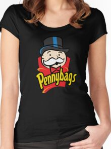 Pennybags Women's Fitted Scoop T-Shirt