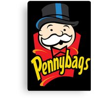 Pennybags Canvas Print