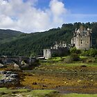 Eilean Donon Castle - Scotland by Graham Ettridge