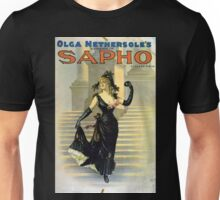 Performing Arts Posters Olga Nethersoles version of Sapho by Clyde Fitch 2879 Unisex T-Shirt