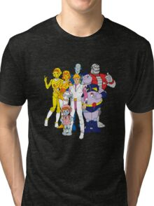 Mighty Orbts - Group Tri-blend T-Shirt