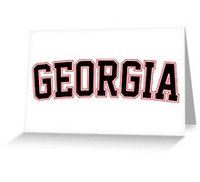 Georgia Greeting Card