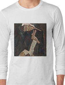 Egon Schiele - The Lyricist (1911)  Long Sleeve T-Shirt