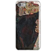 Egon Schiele - The Lyricist (1911)  iPhone Case/Skin