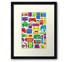 The Console Party Framed Print
