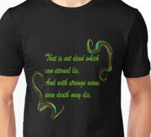 H.P. Lovecraft Quote Unisex T-Shirt