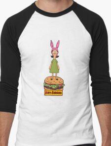 Bobs Burgers- Louise Belcher Men's Baseball ¾ T-Shirt