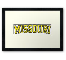 Missouri Framed Print