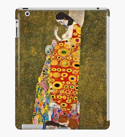 Gustav Klimt - Hope, Ii 1907 - 1908  iPad Case/Skin
