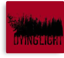 Dying Light - Logo by AronGilli Canvas Print