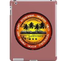 Party All Over The Place iPad Case/Skin