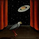 Lapping Saturn by Littlebirdy73