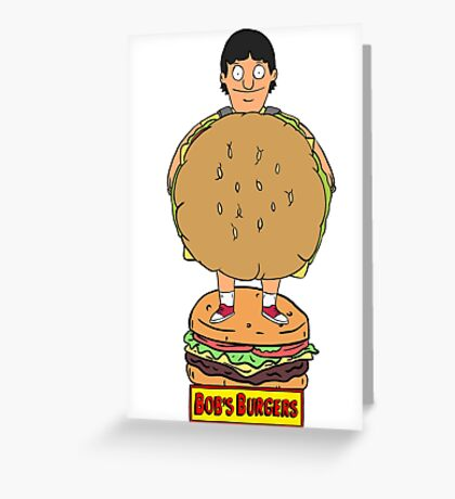 Bobs Burgers- Gene Belcher Greeting Card