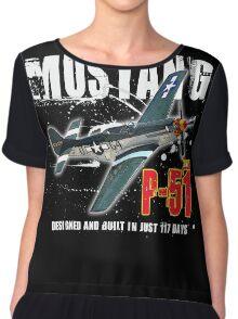 P-51 MUSTANG Chiffon Top