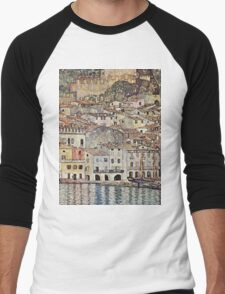 Gustav Klimt - City Men's Baseball ¾ T-Shirt
